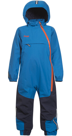 Bergans Kids Snøtind Insulated Coverall Light Sea Blue Navy Koi